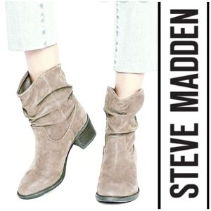 Ruggedly Cool Lightly Distressed Steve Madden Boot